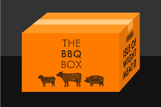 Isle Of Wight BBQ Freezer Box